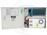12V DC 18CH Power Supply, 20A, UL
